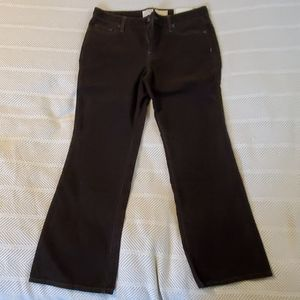 LOFT brown corduroy curvy boot pants. NEW